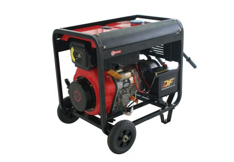 Open type four stroke 6 kw diesel generator for household or garden