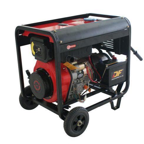 Open type four stroke 6 kw diesel generator for household or garden