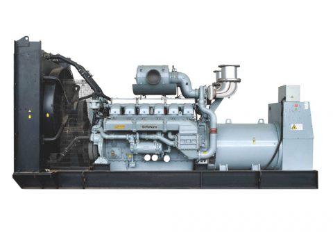 Prime 1360kw 1700kva Perkins diesel generator set Vee 16 cylinders