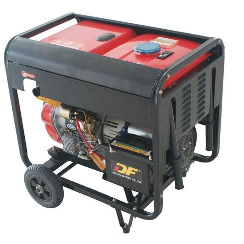 Single phase standby power 5.2 kilowatt diesel electric generator