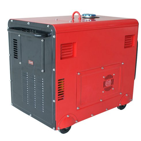 recoil or electric start 3 kva silent diesel generator for reseller