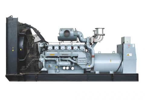 16 Cylinders 1800kw Perkins open type diesel power genset EPA approved