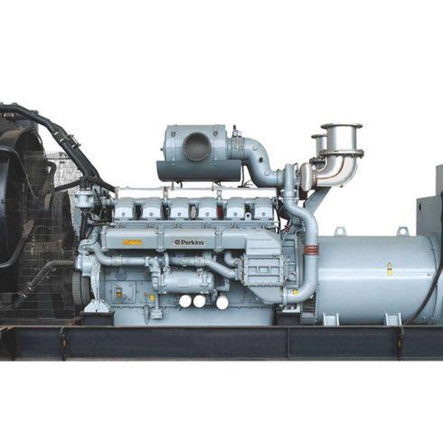16 Cylinders 1800kw Perkins open type diesel power genset EPA approved