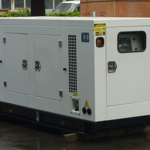 180kw 6 cylinders Perkins silent diesel generator by China OEM factory