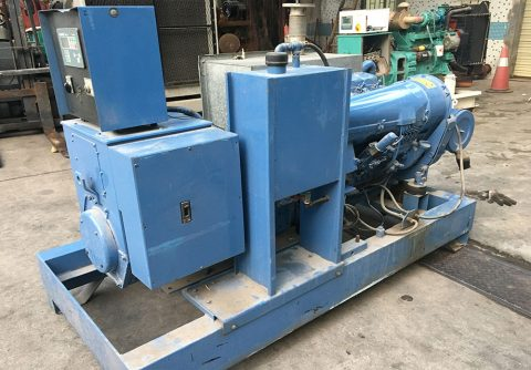 52kw Deutz used generator set with air cooled BF6L913 diesel engine
