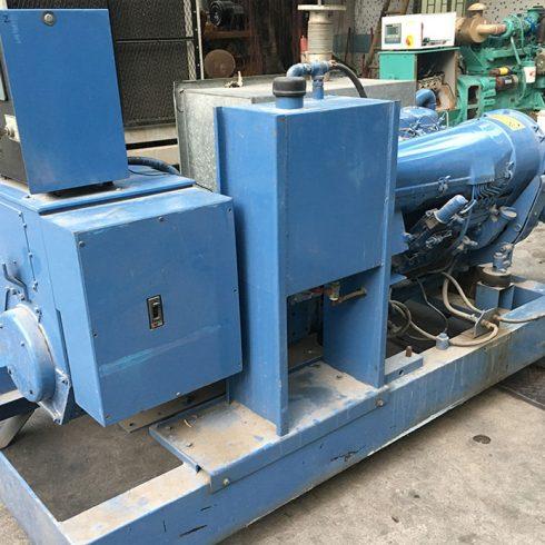 52kw Deutz used generator set with air cooled BF6L913 diesel engine