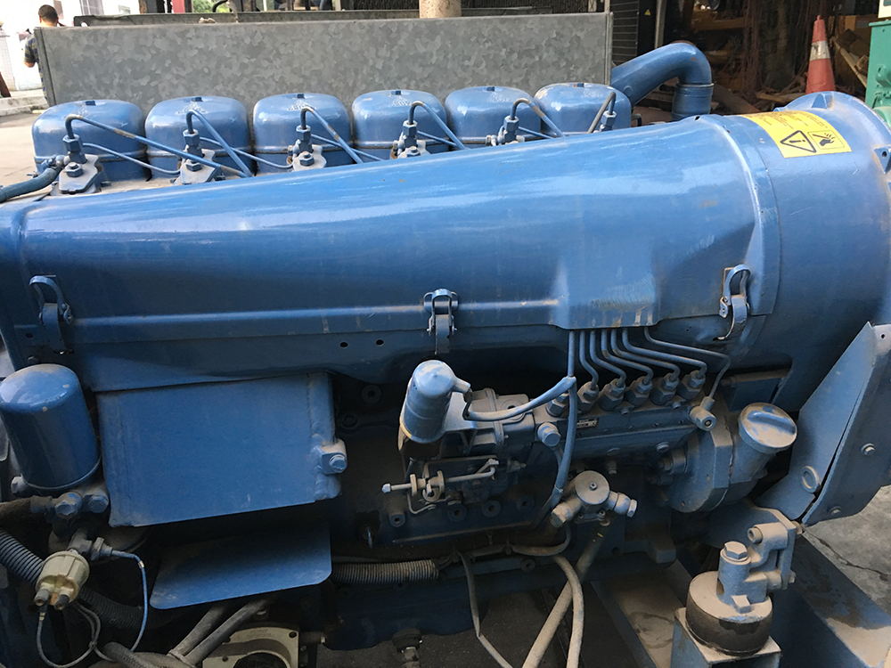 52kw Deutz used generator set with air cooled BF6L913 diesel engine picture 2