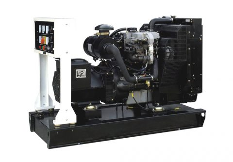 80kw 100kva China Perkins diesel generator with ABB circuit breaker