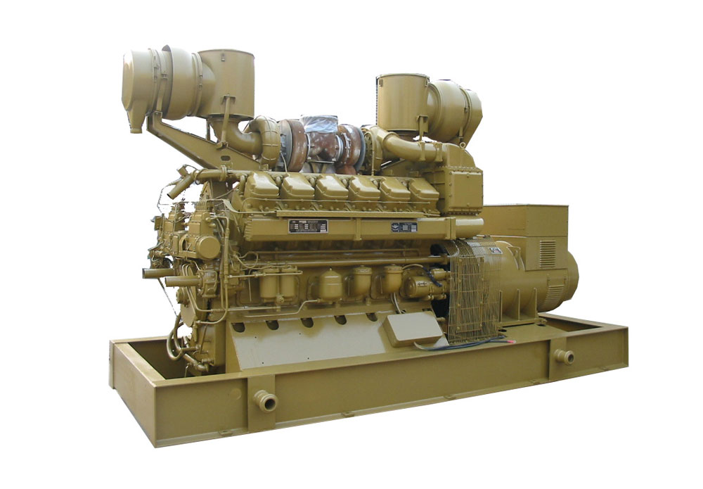 JDEC open type cooling diesel generator set