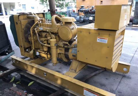 Prime 100kw 125kva used Caterpillar diesel generator reconditioned