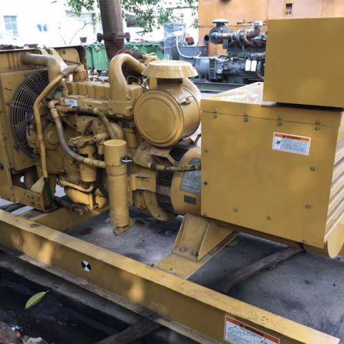 Prime 100kw 125kva used Caterpillar diesel generator reconditioned