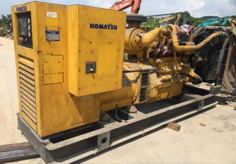 Prime 280kw 350kva used Komatsu second hand diesel generator set