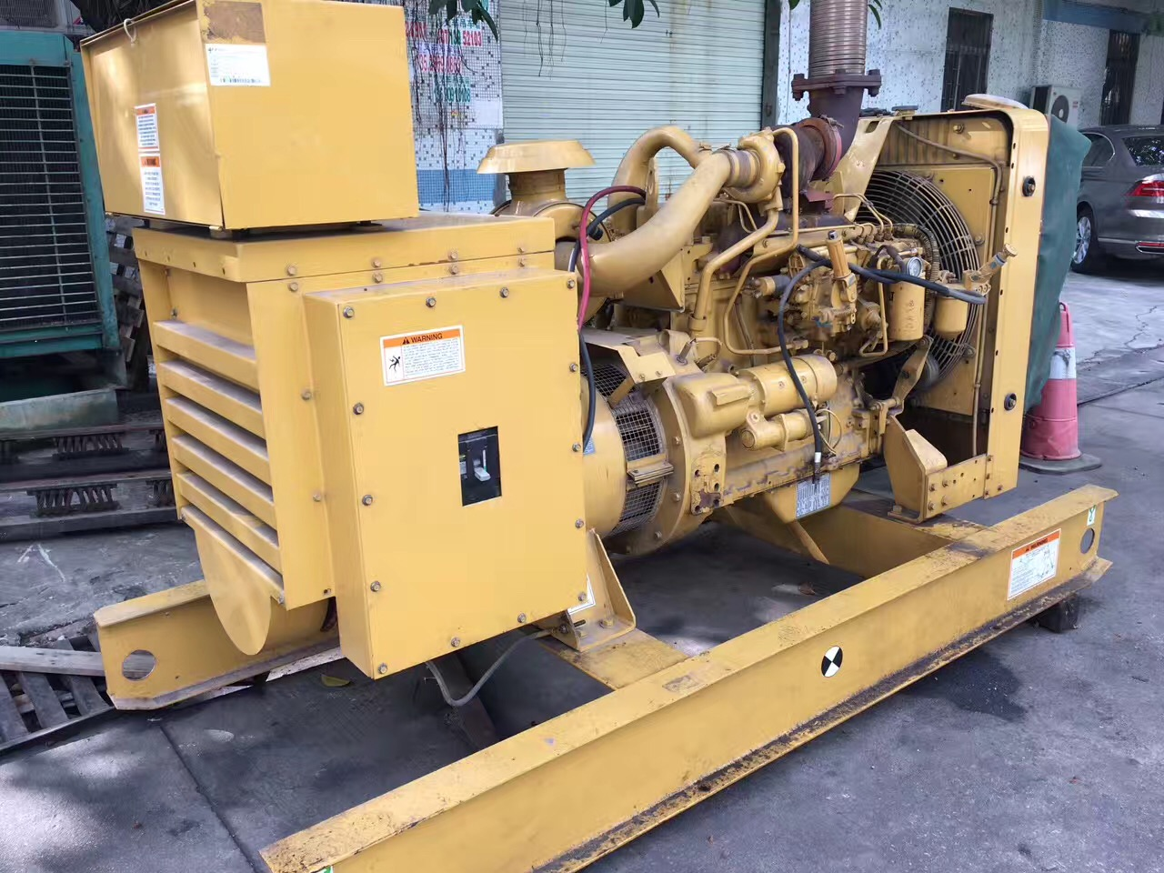 Refurbished 100kw 125kva Caterpillar diesel generator set