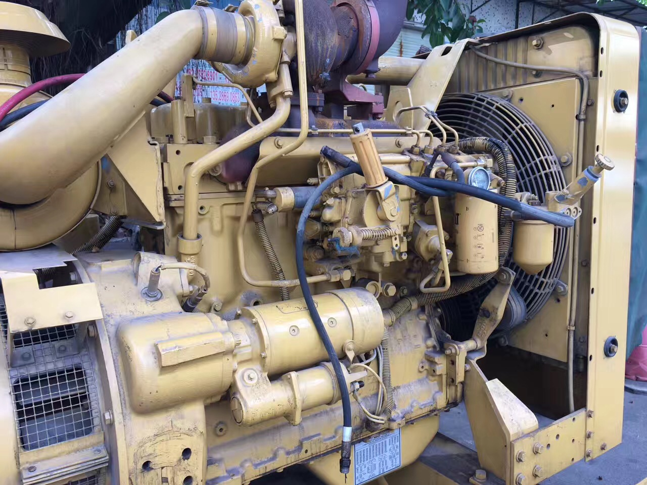 reconditioned 100kw 125kva Caterpillar diesel engine genset