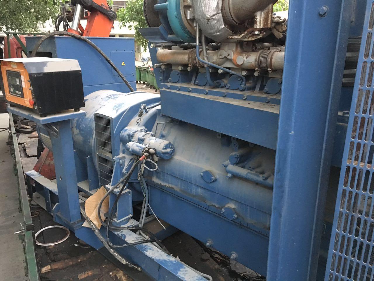 standby 704kw Mitsubishi second hand diesel generator 50Hz 380v