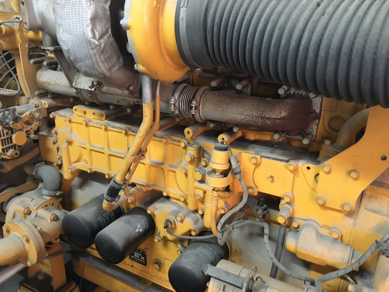 used 280kw Mitsubishi diesel genset for sale