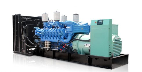 800kw 1000kva original Germany MTU 16V2000G65 engine diesel generator