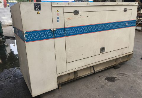 88kw second hand Perkins diesel generator set original from FG Wilson